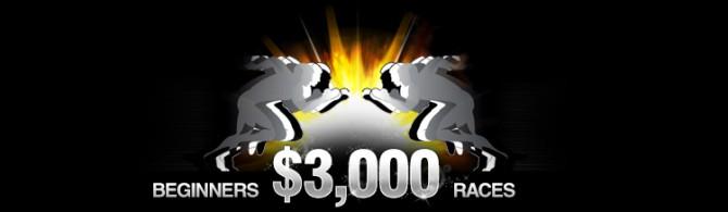 $3,000 Гонки для новичков на TitanPoker