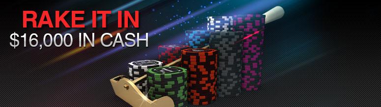 Titan Poker Rake It In Races